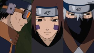 Rating: Safe Score: 8 Tags: hatake_kakashi male naruto rin_(naruto) uchiha_obito vector_trace User: nekumex