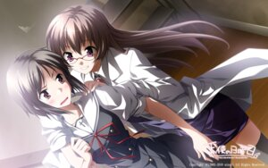 Rating: Safe Score: 16 Tags: 2c=galore amamiya_akari ef_~a_fairytale_of_the_two~ hirono_nagi megane minori seifuku tenshi_no_nichiyoubi wallpaper User: fireattack