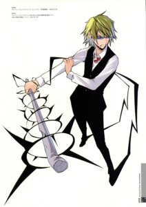 Rating: Safe Score: 8 Tags: durarara!! heiwajima_shizuo male megane smoking User: Radioactive