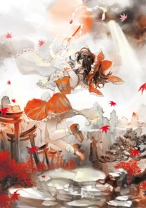 Rating: Safe Score: 5 Tags: hakurei_reimu ibaraki touhou User: Mr_GT