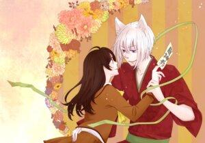 Rating: Safe Score: 5 Tags: animal_ears hetzosh kamisama_hajimemashita kimono momozono_nanami seifuku tomoe_(kamisama_hajimemashita) User: charunetra