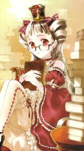 Rating: Safe Score: 10 Tags: bloomers dress kuramoto_kaya megane pieces_of_the_world User: Radioactive