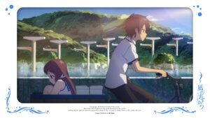 Rating: Safe Score: 8 Tags: kihara_tsumugu mukaido_manaka nagi_no_asukara seifuku User: alice4
