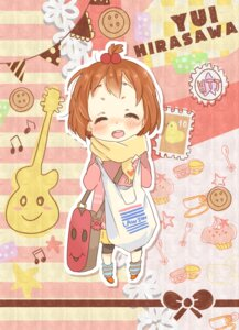 Rating: Safe Score: 21 Tags: chibi futomayu hirasawa_yui k-on! User: Nekotsúh