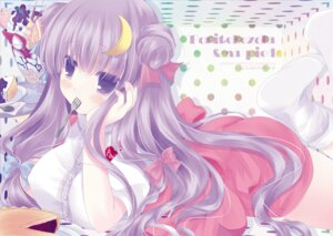 Rating: Safe Score: 20 Tags: patchouli_knowledge shiromomo touhou User: fairyren
