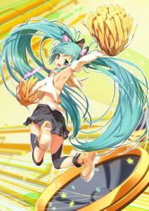 Rating: Safe Score: 55 Tags: bun150 cheerleader hatsune_miku vocaloid User: aihost