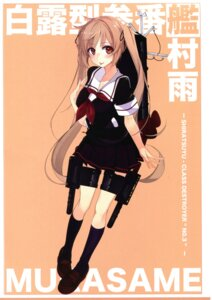 Rating: Safe Score: 27 Tags: kantai_collection murasame_(kancolle) seifuku shirokitsune User: NotRadioactiveHonest