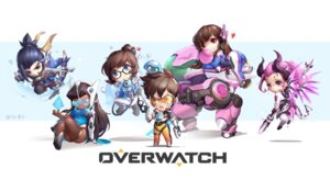 Rating: Safe Score: 24 Tags: ass bodysuit chibi d.va gun hanzo_(overwatch) horns mecha megane mei_(overwatch) mercy_(overwatch) overwatch signed symmetra_(overwatch) tail tattoo tracer tracyton weapon wings User: mash