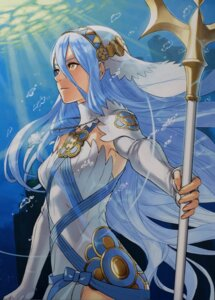 Rating: Safe Score: 39 Tags: aqua_(fire_emblem_if) dress fire_emblem fire_emblem_if kozaki_yuusuke nintendo pantsu weapon User: charunetra