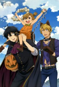 Rating: Safe Score: 15 Tags: barakamon halloween handa_seishuu kotoishi_naru takeuchi_yukari User: drop