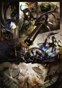 Rating: Safe Score: 20 Tags: alphonse black_rock_shooter black_rock_shooter_(character) dead_master vocaloid white_datura User: Aurelia