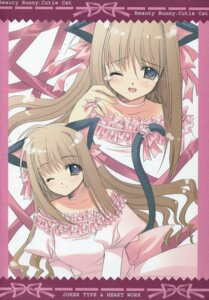 Rating: Safe Score: 11 Tags: animal_ears joker_type nekomimi nishimata_aoi paper_texture tail User: admin2