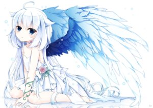 Rating: Safe Score: 61 Tags: dress shiroyurine wings yuu_(shiroyurine) User: KazukiNanako