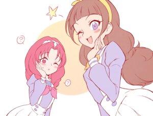 Rating: Safe Score: 7 Tags: akagi_towa amanogawa_kirara go!_princess_pretty_cure pretty_cure seifuku toku_(ke7416613) User: Fredguitarist