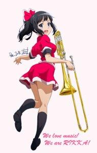Rating: Safe Score: 25 Tags: heels hibike!_euphonium nii_manabu sasaki_azusa seifuku User: saemonnokami