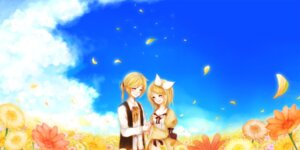 Rating: Safe Score: 6 Tags: kagamine_len kagamine_rin saku_/_ii vocaloid User: charunetra