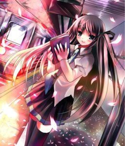 Rating: Questionable Score: 37 Tags: azumi_kazuki hatsune_miku thighhighs vocaloid User: fireattack