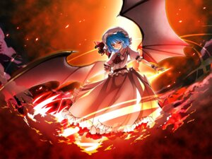 Rating: Safe Score: 9 Tags: remilia_scarlet sakunan touhou wings User: Radioactive