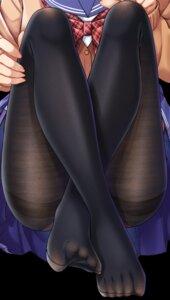 Rating: Safe Score: 43 Tags: feet gurande pantsu pantyhose seifuku sweater tagme User: BattlequeenYume