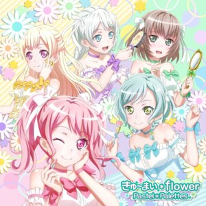 Rating: Safe Score: 15 Tags: bang_dream! disc_cover dress hikawa_hina maruyama_aya shirasagi_chisato tagme wakamiya_eve yamato_maya User: saemonnokami