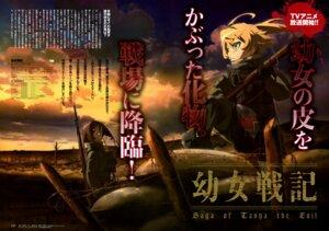 Rating: Safe Score: 14 Tags: azuma_ryouta gun tanya_degurechaff youjo_senki User: drop