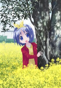 Rating: Safe Score: 14 Tags: hiiragi_tsukasa isou_nagi lucky_star User: fireattack