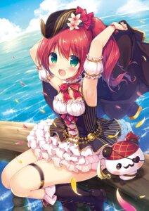 Rating: Safe Score: 22 Tags: canvas+garden cleavage garter heels miyasaka_nako pirate User: lightsnow