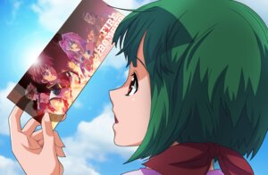 Rating: Safe Score: 7 Tags: kutsuno macross macross_7 macross_frontier mylene_flare_jenius nekki_basara ranka_lee ray_lovelock veffidas_feaze User: lilith7