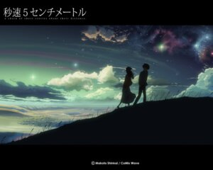 Rating: Safe Score: 22 Tags: 5_centimeters_per_second landscape shinkai_makoto shinohara_akari toono_takaki wallpaper User: Radioactive
