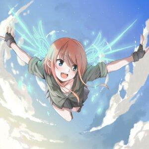 Rating: Safe Score: 37 Tags: amu_(258shin) wings User: saemonnokami