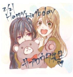 Rating: Safe Score: 17 Tags: aihara_mei aihara_yuzu_(citrus) citrus_(manga) saburouta seifuku sketch User: kiyoe