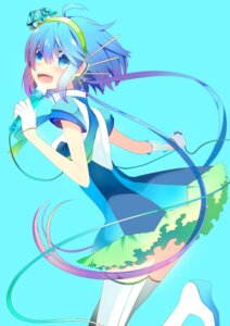 Rating: Safe Score: 15 Tags: aoki_lapis headphones temari_(artist) vocaloid User: charunetra