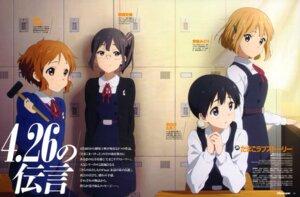 Rating: Safe Score: 40 Tags: asagiri_shiori iwasaki_nami kitashirakawa_tamako makino_kanna megane seifuku tamako_market tokiwa_midori User: drop