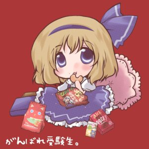 Rating: Safe Score: 5 Tags: alice_margatroid alice_margatroid_(young) chibi futami_yayoi touhou User: konstargirl