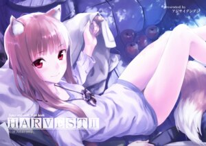 Rating: Safe Score: 97 Tags: ajisai_denden animal_ears holo kawakami_rokkaku spice_and_wolf tail User: blooregardo