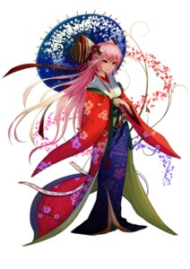 Rating: Safe Score: 17 Tags: fujiwara_no_mokou japanese_clothes recare sword touhou umbrella User: charunetra