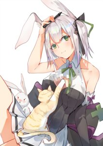 Rating: Safe Score: 3 Tags: animal_ears bunny_ears neko skirt_lift tagme User: BattlequeenYume