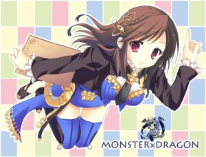 Rating: Safe Score: 40 Tags: dorako monster_x_dragon naviko thighhighs tsukiji User: fairyren