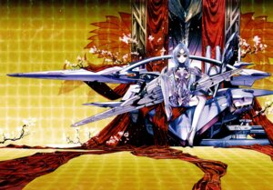 Rating: Safe Score: 31 Tags: bodysuit choco kos-mos mecha_musume xenosaga User: fireattack