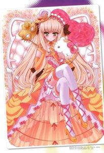 Rating: Safe Score: 24 Tags: bloomers dress hello_kitty kawamura_hiroki thighhighs User: Radioactive