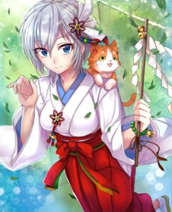 Rating: Safe Score: 29 Tags: anastasia_(idolm@ster) ashita miko neko the_idolm@ster User: charunetra
