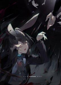 Rating: Safe Score: 14 Tags: amiya_(arknights) animal_ears arknights bunny_ears helic_(7317helic) User: Dreista