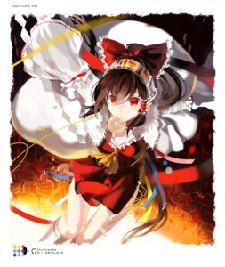 Rating: Safe Score: 15 Tags: hakurei_reimu headphones kaninn touhou User: fireattack