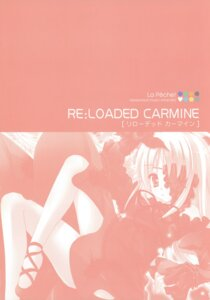 Rating: Safe Score: 2 Tags: hinamatsuri_touko monochrome reloaded_carmine User: crim
