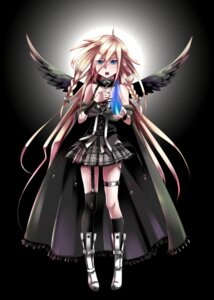 Rating: Safe Score: 21 Tags: caffein garter ia_(vocaloid) stockings thighhighs vocaloid wings User: SciFi