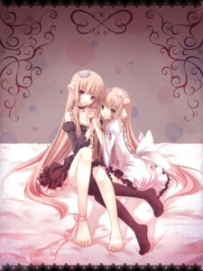 Rating: Safe Score: 77 Tags: chii chobits feet freya lolita_fashion nana_mikoto thighhighs User: charunetra