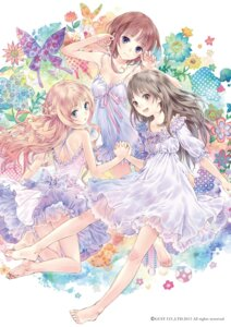 Rating: Safe Score: 125 Tags: atelier atelier_meruru atelier_rorona atelier_totori cleavage digital_version dress feet kishida_mel merurulince_rede_arls rorolina_frixell totooria_helmold User: blooregardo