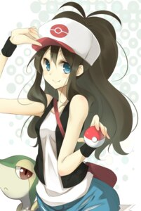 Rating: Safe Score: 55 Tags: kujou_ichiso pokemon snivy touko_(pokemon) User: charunetra