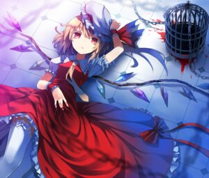 Rating: Safe Score: 60 Tags: blood bon flandre_scarlet thighhighs touhou wings User: Nekotsúh