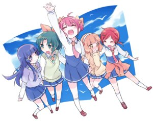 Rating: Safe Score: 11 Tags: aoki_reika hino_akane hoshizora_miyuki kise_yayoi midorikawa_nao mizuki pretty_cure seifuku smile_precure! User: fairyren